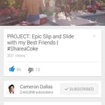 CHECK OUT CAMS NEW VIDEO!???? https://t.co/VIaL4v061q … GIVE IT A THUMBS UP ???? #ShareaCokeWithCam @camerondallas http://t.co/GypQ7gcDSW 59