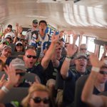 RT @Seahawks: Look at some of the 2,540 12s that got on the bus for camp today! #RoundAndRound [http://t.co/8lz9oA9TNJ] http://t.co/0MhRVRRtw4