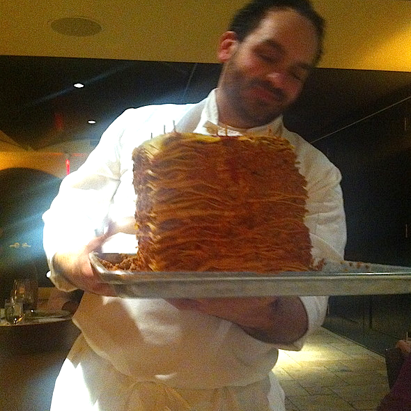 In honor of National Lasagna Day, behold the 100 layer lasagna @DelPosto in New York City! http://t.co/3YXqrEG8gh http://t.co/CLxMEb61y0