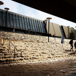 Crazy. RT @KariVanHorn The stairs at #UCLA turned into a waterfall. http://t.co/7Nvo7VYoJa http://t.co/I0WNsuvn5V