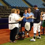 What, him worry? #Rays Price signing autographs at Trop today. http://t.co/e5xZkoZjfg