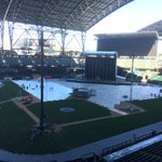 Preparations continue for @Beyonce and @S_C_. #ILoveSafecoField http://t.co/nWVh2wot7P