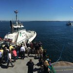 RT @ScottSKOMO: Ferry M/V Tacoma reports 71° with light 12 knot wind -- stranded passengers at least dodging the heat! http://t.co/42qT1ysO7n