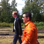 RT @DirComsCzar: @DominicCardy and @NB_NDP Caraquet candidate Mathieu Chayer tour the Acadian Village Tuesday. #nbpoli http://t.co/KVgnJqA7qR