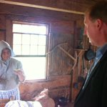 RT @DirComsCzar: @DominicCardy samples authentic Acadian bread in the Acadian Village Tuesday. #nbpoli http://t.co/LxeFO5HI0S