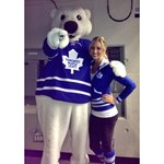 Everyones favourite bear turns 19 today, Happy Birthday Carlton @MapleLeafs #Toronto #birthdaywishes http://t.co/ueFVthe49H