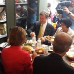 RT @OmarAlghabra: Toronto mayor candidates having an Eid dinner at @paramountfoods http://t.co/lZPqCQ78y7