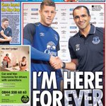 """Im here for ever"" - Ross Barkley says he wants to stay at Everton for the rest of his career. (Source: Star) http://t.co/EhjPD0dgJJ"