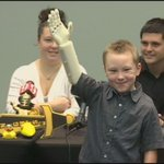 Great Story: #Florida boy gets new arm made with 3-D printer thanks to #UCF students http://t.co/Nu3jqboA6o #10News http://t.co/3k7jFAyA14