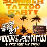 #Toronto a dweet!! @Street_Platinum @AngelCamorra MADD ART TATTOO presents END OF SUMMER TATTOO PARTY! http://t.co/eKvw3Hq0nR