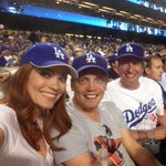 RT @aleciadavis: Bases loaded, having a blast, lets go @dodgers! @dizzyfeet @SimonLythgoe @aleciadavis #dodgers http://t.co/uONJU8mOBz