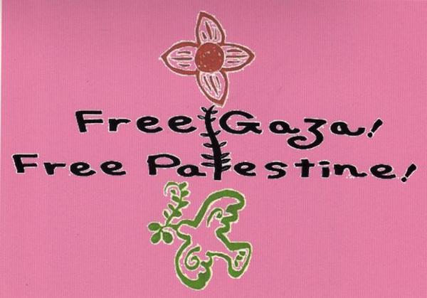 ご自由にどうぞ!セブンイレブンネットプリント期限8月6日 A3 #FreeGaza ピンク:6YMAF6HB/イエロー:HKKE3X6E/ブルー:HTE7NU3Q/日本語のアピール:5LKPUN2T RT @freegaza_demo http://t.co/92A84Wn8d2