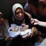 RT @iFalasteen: What did this innocent child do!!! Stop Israel genocide on Gaza... #GazaUnderAttack #PrayForGaza http://t.co/QJcfVEMFbW