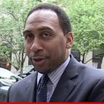 RT @TMZ: Stephen A. Smith SUSPENDED by ESPN for domestic violence remarks http://t.co/PSKK6S1IV2 http://t.co/b0nwFCVIxx