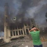 RT @Farah_Gazan: The mosque that I have always loved! Why!! ???? #Gaza #GazaUnderAttack #AJAGAZA http://t.co/EKK7FUUGPA