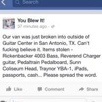 RT @TSPR: The guys in @youblewit got robbed in San Antonio! Help them out! RT THIS! http://t.co/gZv8rcVoAm
