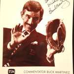 Great win for the @BlueJays in Boston. Heres a picture we used to give to fans back in the day at TSN #BuckMartinez http://t.co/G1pmddqfab