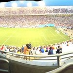 Soccer is happening in the Cotton Bowl. Go, soccer! http://t.co/B0RbPjSuGQ
