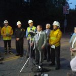 RT @samhoff3: Koretz, Block and other officials at a press conference on Sunset Boulevard #uclaflood http://t.co/l9RfW833cA