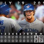 RT @BlueJays: RECAP: Colby Rasmus goes yard as the @BlueJays top the Red Sox. http://t.co/Ea3Q6xXUL1 http://t.co/wxkgnwI5tT