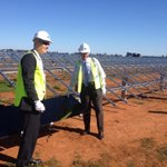 Coalition MP Mark Coulton installs 3rd of 1.35m #solar panels at Austs biggest plant: pretty cool, eh? #auspol http://t.co/0hEdxMR4s6