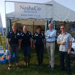 Team Nash (l-r me, Katie Lapthorn, Lesley Allinson, Steve Cole & Will Giles) at the #YealmptonShow. Come and see us!! http://t.co/4iStdF2SCg