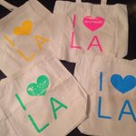 RT @BriteLA: Just got my #britespacela totes in the mail. Thank you @inkpluscotton! What do you guys think? #ilovela #la #popup http://t.co/lLfH86rfca