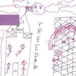 .#HRInquiry drawing by #Child in #Immigration detention on #ChristmasIs. http://t.co/VjTsi2Yekn #AusLaw #AusPol http://t.co/S0upOJUDGN