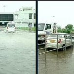 RT @ikaveri: And here I thought Gujarat was an utopia where nothing goes wrong. Heavy rain causes waterlogging @ Ahmedabad airport http://t.co/9bXALXysNy