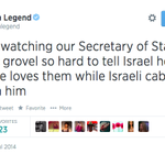 RT @Remroum: Im not used to seeing @JohnLegend angry, I like this side of him. #Gaza http://t.co/XSa01cCiQl