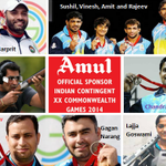 RT @Amul_Coop: Fantastic Day 6 for #India. 10 medals including 3 Golds! Total medal count is now 36. #CWG2014 #Glasgow2014 http://t.co/XtPF2oyGVu