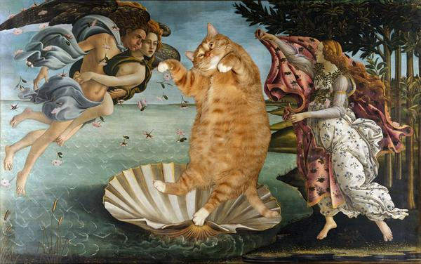 It's #MuseumCats Day. For a laugh: http://t.co/NxW3f1Lm1V // http://t.co/01kCaAl0eR