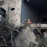 This was my room!!! This was my house before Israel destroyed it. #GazaUnderAttack #PrayForGaza http://t.co/YcSo05E6nu/s/xVlG (1 minute ...