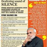 TALK, TALK, MODI has become MOUN-MODI. http://t.co/ia2uznBIfz