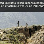 RT @dawn_com: Six killed as security forces fight off militant attack at Pak-Afghan border http://t.co/Rtuk63YyDX http://t.co/coiSopdtmU