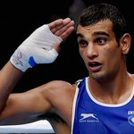 RT @IExpressSports: JUST IN #CWG2014: #OnlyinExpress- Boxer Mandeep Jangra wins BRONZE after getting a walkover vs Daniel Lewis in 69kg http://t.co/3x2yWEUP1R