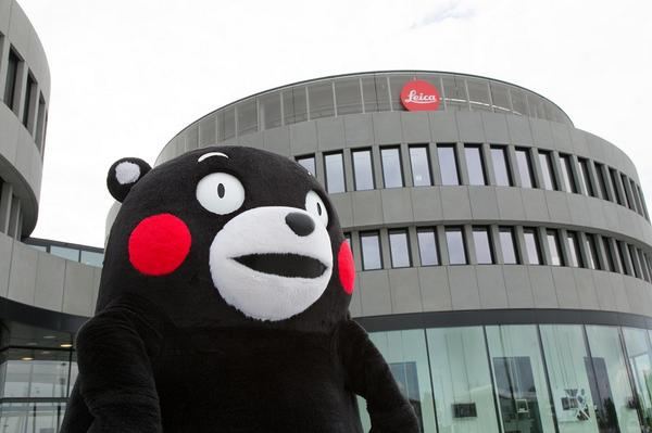 Kumamon made a special trip to Leitz-Park! Learn about his visit here: http://t.co/Rc3o7wvTMK http://t.co/ihXPM6rdd9