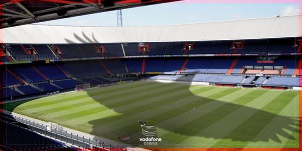 """""""@VodafoneArena: Are you ready for the match @DeKuip? The Black Eagle's shadow is on you! http://t.co/jdOw1ZjOwu"""" Haven't seen it yet! ;-)"""
