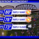 Who is going to @WFPK #WaterfrontWednesday to see @steelismmusic, @thedeloreans, @bensollee? Perfect weather tonight! http://t.co/dNXEnnliKA
