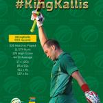 RT @OfficialCSA: Take a bow, you #LEGEND. #KingKallis http://t.co/D64qOsfckc