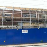 Scaffolding is going up around the old cinema site http://t.co/j14qGkhsEU