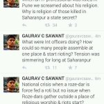 #IStandWithGauravSawant as if we dont support him 2dy,True Reporting will become Rare and Scare in the coming times http://t.co/c9bLbBJlnk