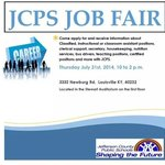 .@JCPSKY is hosting a JOB FAIR this Thursday 10am-2pm. 3332 Newburg Road - info: http://t.co/7OtvKsGSMd