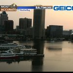 Good looking AM at the #InnerHarbor! #MDwx #Baltimore #GMM2 http://t.co/7ljTlzmF9q