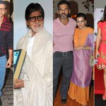 Pics - Work and Play: Hrithik, Big B, Suneil, Tara http://t.co/zeIHiCgc8Y http://t.co/K5qmaoDMjS