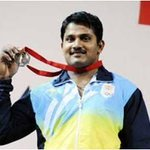 Indian Army Stars at Glasgow : Hav Chandrakant Mali wins Bronze Medal in Mens 94 Kg Weightlifting. #IndainArmyatCWG http://t.co/P2hxSLWwWV