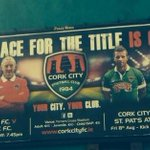 RT @corkcityfcnews: Billboards have popped up again. Heres one taken by @mk19799 #ccfc84 @CorkCityFC v @DundalkFC and v @stpatsfc http://t.co/ojD0vTH2Pb