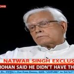 RT @ShivAroor: Manmohan didnt want to be PM, told Sonia he didnt have mandate. Arjun Singh & Pranab had no choice. #NatwarBomb http://t.co/6moc5j3d4d