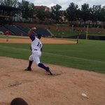 RT @LizCrawfordWFMY: The anticipated warmup is underway. Carlos Rodon with the #DashDebut http://t.co/5kB5rWmDKY
