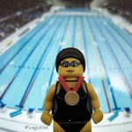 #CommonwealthGames #Glasgow2014 #swimming #LegoAlex #legophotography #goldmedal #brighton #swimmer http://t.co/N4VWkfTTQy